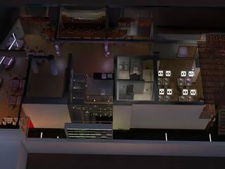Remodelación de Bar Casa Vieja : Restaurantes de estilo  por GA Experimental