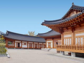 합천이씨종가 - 전통한옥: 성종합건축사사무소의  목조 주택