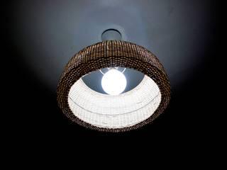 Lámpara Domo de ELMIMBRE Spa - Diseño, Fabricación y Comercialización de productos en Mimbre - Región Metropolitana - Chile Minimalista