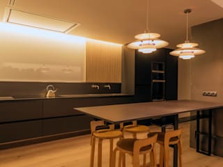 Casa P&P Sitges Centro Barcelona de FPM Arquitectura Minimalista