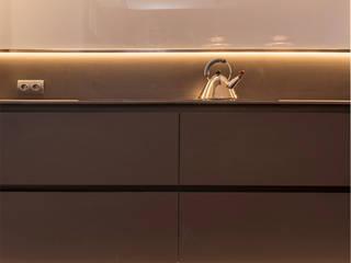 Casa P&P Sitges Centro Barcelona Cocinas de estilo minimalista de FPM Arquitectura Minimalista