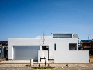 設計事務所アーキプレイス Rumah tinggal Beton White