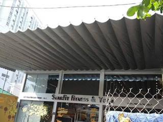 BAT PHU THANH Nhà để xe/nhà kho phong cách châu Á bởi MAI HIEN DI DONG HA NOI 0945158931 Châu Á