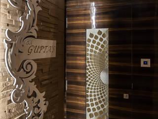 The Entrance door by Sagar Shah Architects Modern