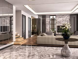 Minimalismo Design – Onur Life Esenyurt:  tarz Oturma Odası