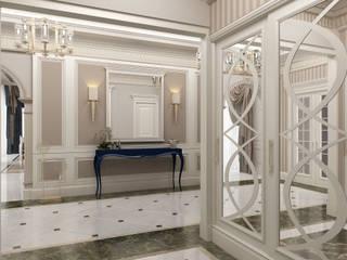 Bilgah Villa - Baku / Azerbaycan Eklektik Koridor, Hol & Merdivenler Sia Moore Archıtecture Interıor Desıgn Eklektik