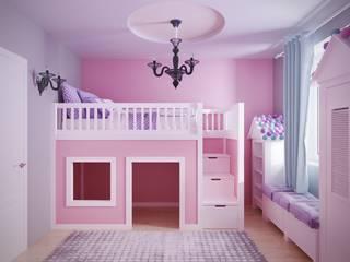 Интерьер ар-дэко: Детские комнаты в . Автор – ОИД БАЗИЛИКА,