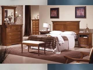 Muebles para dormitorios de matrimonio en Palencia: Dormitorios de estilo  de MUEBLES GATON VALLE, amueblamiento de espacios en Palencia  hacemos que los ambientes que den acogedores con encanto y un estilo diferente