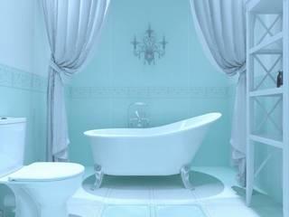 Прованс и классика: Ванные комнаты в . Автор – ОИД БАЗИЛИКА,