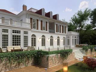 Özel Villa - Abu Dhabi / BAE Sia Moore Archıtecture Interıor Desıgn Eklektik