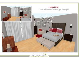 Proyecto de revalorización de chalet adosado de The Open House Moderno