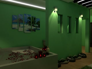 Modern Bathroom by Taller Trece Modern