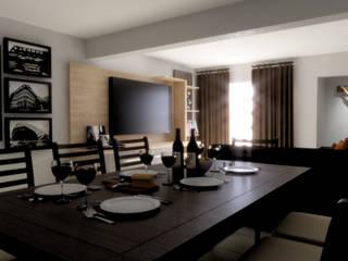 Modern Dining Room by Taller Trece Modern