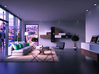 Modern Living Room by Taller Trece Modern