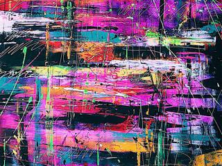NERO Abstrato por Juliana Tang Design Moderno