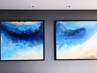 Deep Blue por Juliana Tang Design Moderno