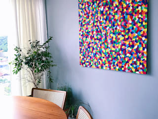 Tela Confettis por Juliana Tang Design Moderno