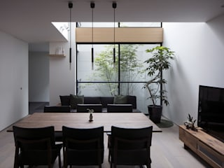 Eclectic style dining room by プラスアトリエ一級建築士事務所 Eclectic