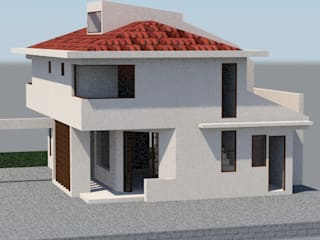 Casa Amapolas de MSGARQ Moderno