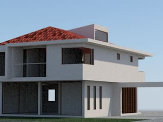 Casa Amapolas Casas estilo moderno: ideas, arquitectura e imágenes de MSGARQ Moderno