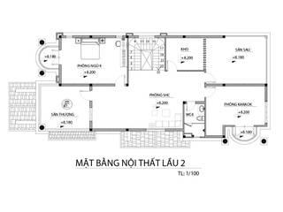 Xây dựng nhà phố 3 tầng tại TPHCM:  Nhà gia đình by TNHH xây dựng và thiết kế nội thất AN PHÚ CONs 0911.120.739