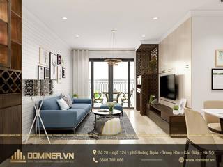 Thiết kế nội thất chung cư Northern Diamond hiện đại– anh Hợp bởi Thiết kế - Nội thất - Dominer