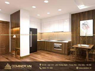 Thiết kế nội thất chung cư Metropolis phong cách hiện đại – Anh Đức bởi Thiết kế - Nội thất - Dominer