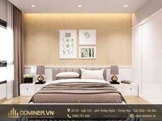Thiết kế nội thất chung cư Metropolis phong cách hiện đại – chị Hòa bởi Thiết kế - Nội thất - Dominer