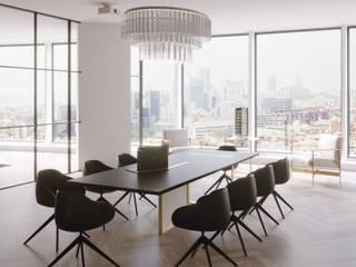Ruang Studi/Kantor Gaya Skandinavia Oleh Stockholm Barcelona Design - Interioristas en Barcelona Skandinavia
