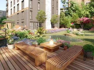 bukalemun mimarlık – Sunsetpark Marina:  tarz Apartman
