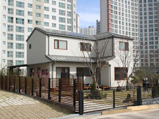 여유당 by 이우 건축사사무소 모던