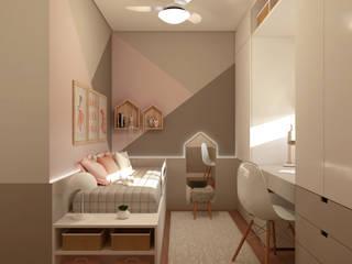 Quarto infantil | Apartamento AR por Aizelli Arquitetura Moderno