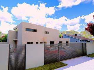 Casa Vitacura: Casas unifamiliares de estilo  por RAS Arquitectos
