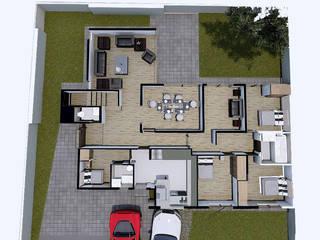 Casa Vitacura: Pisos de estilo  por RAS Arquitectos