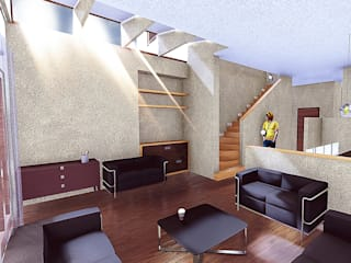 Casa La Reina Livings de estilo moderno de RAS Arquitectos Moderno