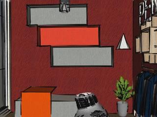 Modern walls & floors by kübra meltem doğan Modern