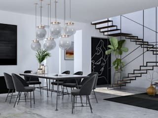 Living room by Santoro Design Render, Minimalist