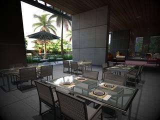 Diseño de Interiores : Comedores de estilo  por Arquitecto-Villarino, Moderno
