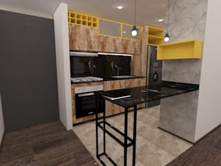 di Kaizen diseño interior Moderno