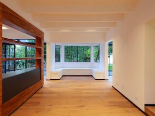 Living room by BACE arquitectos,