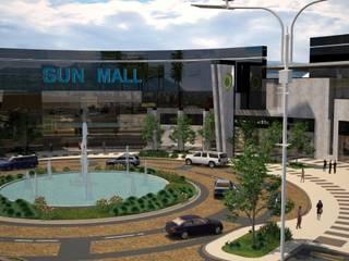 Plazas comerciales: Estudios y oficinas de estilo  por Arquitecto-Villarino, Moderno