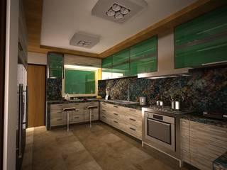 cocina integral: Cocinas equipadas de estilo  por Arquitecto-Villarino, Moderno