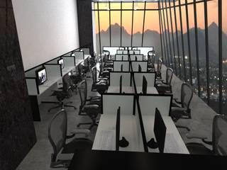 Oficinas: Estudios y oficinas de estilo  por Arquitecto-Villarino, Moderno