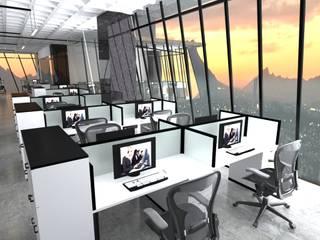 Oficinas Estudios y despachos modernos de Arquitecto-Villarino Moderno