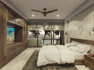 Modern style bedroom by ROEDI Modern