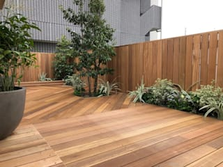 株式会社ムサ・ジャパン ヴェルデ Balconies, verandas & terraces Plants & flowers Wood-Plastic Composite Green