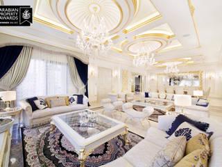 Özel Villa - Süleymaniye / Irak Klasik Oturma Odası Sia Moore Archıtecture Interıor Desıgn Klasik