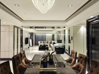 Ruang Makan oleh 雅群空間設計