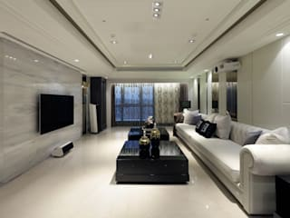 Salon de style  par 雅群空間設計, Classique