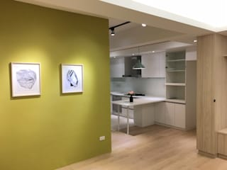Cucina in stile  di 捷士空間設計(省錢裝潢)